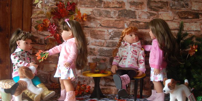 Puppen vom Geschäft Maja Puppenmode