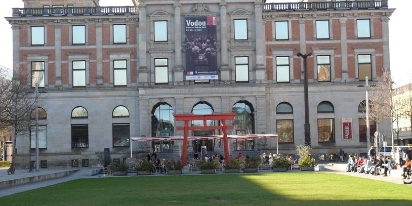 Fassade eines Museums