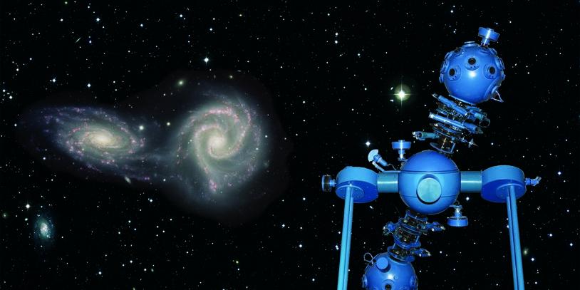 Einblick in das Planetarium.
