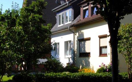 Ein Wohnhaus im Ortsteil Sodenmatt