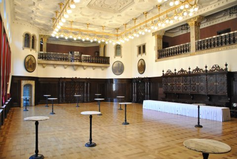 Festsaal im Rathaus.