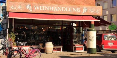 Außenansicht Kiek Rin Weinhandel