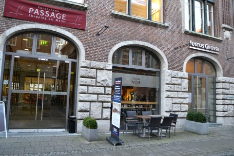 Noir Coffee&Food Lounge in der Innenstadt