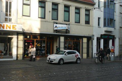 Außenfassade eines Geschäftes