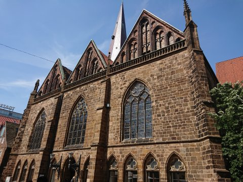 Fassade der Kirche Unser Lieben Frauen (Foto: Melanie Schaumburg).
