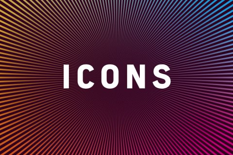 Keyvisual of the Icons exhibition