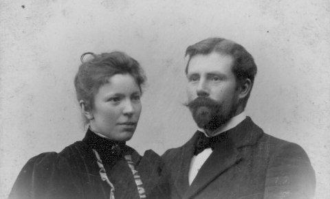 Fritz und Hermine Overbeck.