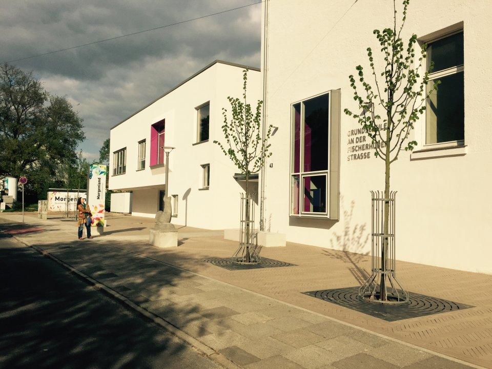 Außenansicht des Quartiersbildungszentrum Morgenland (Quelle: Kultur vor Ort e.V.).