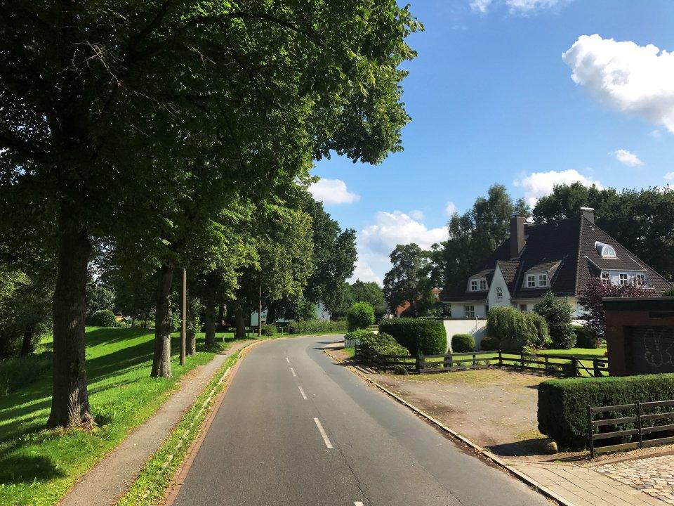 Straße in Borgfeld