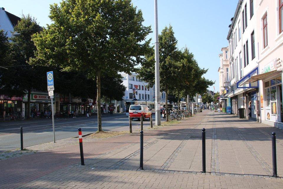 Gröpelinger Heerstraße (Quelle: WFB/bremen.online)