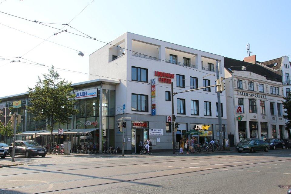 Das Lindenhofcenter in Gröpelingen (Quelle: WFB/bremen.online).